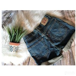 Levi's Relaxed Fit student 550 shorts